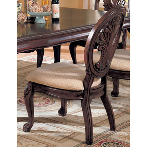 Tabitha Traditional Dining Side Chair, Set of 2