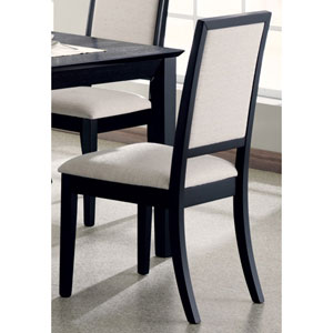 Lexton Cream Upholstered Dining Side Chair, Set of 2