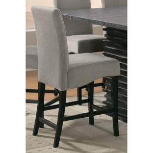 Stanton Gray 24-Inch Bar Stool, Set of 2