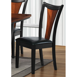 Boyer Side Chair with Upholstered Seat, Set of 2