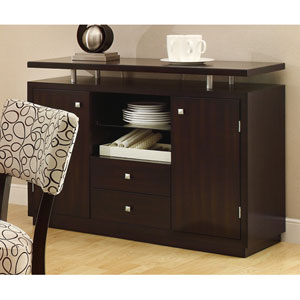 Libby Two Door Dining Server Buffet with Floating Top