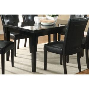 Newbridge Dining Leg Table with Marble Top