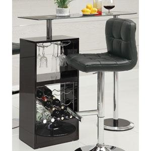 Black Bar Table