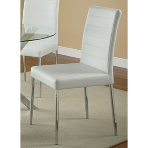Vance White Dining Chair, Set of 4