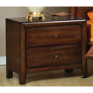Hillary and Scottsdale Two Drawer Nightstand