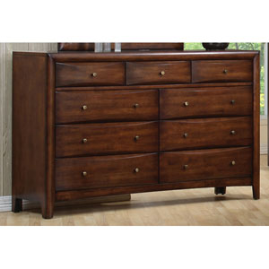 Hillary and Scottsdale Contemporary Nine Drawer Dresser