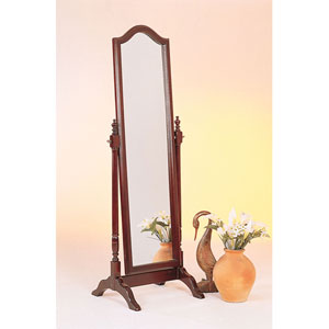 Cheval Mirror with Arch Top