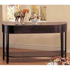 Gough Sofa Table with Shelf