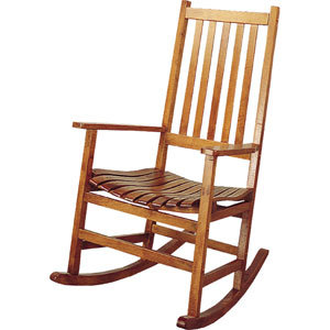 Traditional Wood Rocker