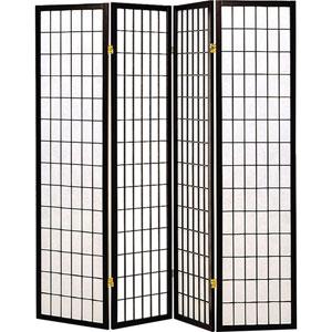 Three Panel Black and White Frame Screen
