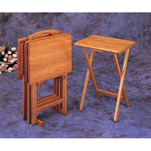 Four Piece Tray Tables