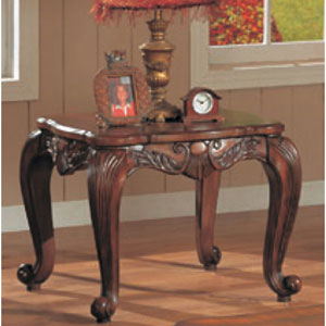 Venice Traditional Square End Table