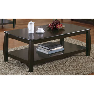 Marina Coffee Table with One Shelf