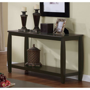 Marina Sofa Table with One Bottom Shelf