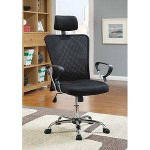 Black Contemporary Air Mesh Executive Chair