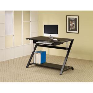Black Contemporary Computer Desk