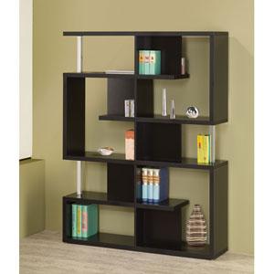 Black Modern Bookcase