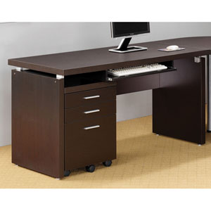Cappuccino Contemporary Writing Desk