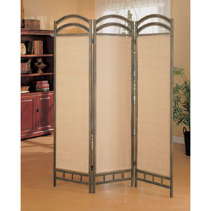Liquid Metal Coated Folding Screen