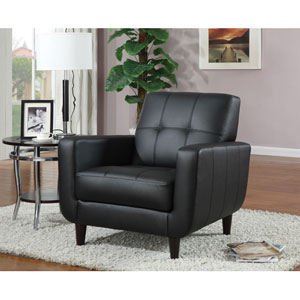 Black Accent Chair with Round Wood Legs  sc 1 st  Bellacor & Shop: Black Armless Wood Bankers Chair | Bellacor