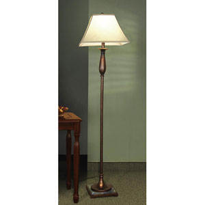 Dark Bronze Finish Floor Lamp