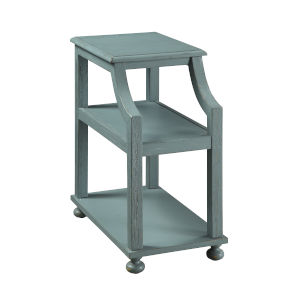 Chairside Blue End Table