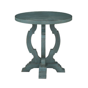 Orchard Park Blue End Table
