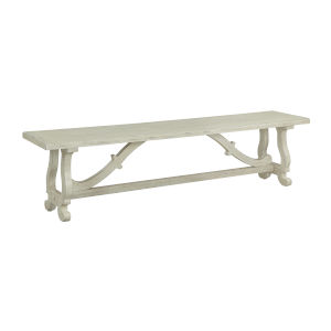 Orchard Park White Benches