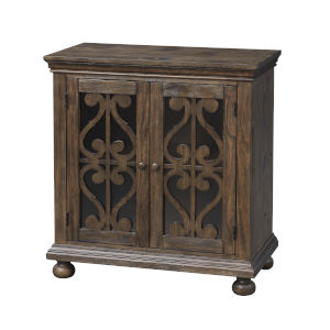 Orchard Park Brown Two-Door Cabinet