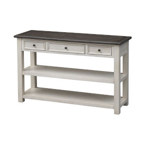 St Claire Ivory Three-Drawer Console Table