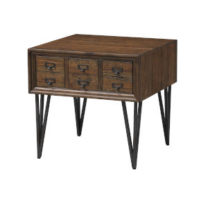 Oxford Brown Single Drawer End Table