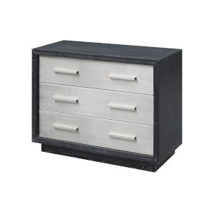 Charcoal and Stainless Steel 40-Inch Chest