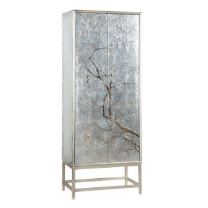 Silvermist Winter Forest 28-Inch Wine Cabinet