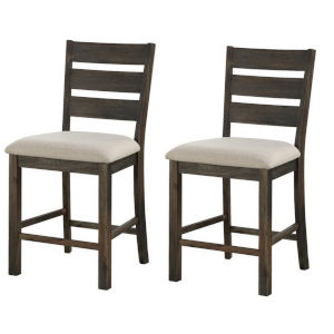 Aspen Court Grey 21-Inch Counter Height Dining Chair