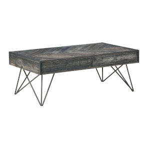 Aspen Court Grey 47-Inch Cocktail Table