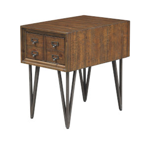 Oxford Distressed Brown 16-Inch End Table