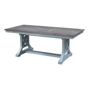 Bar Harbor Blue 78-Inch Dining Table
