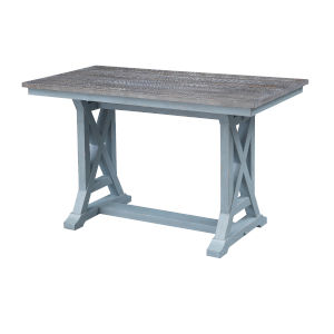 Bar Harbor Blue 60-Inch Dining Table