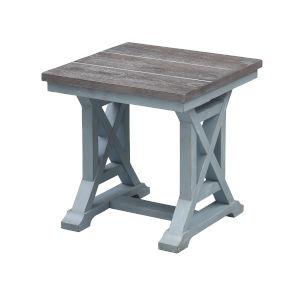 Bar Harbor Blue End Table