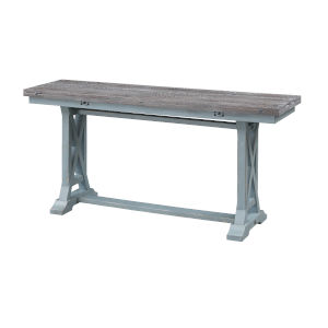 Bar Harbor Blue 64-Inch Console Table