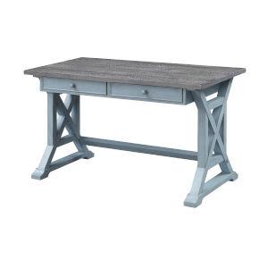 Bar Harbor Blue 52-Inch Writing Desk