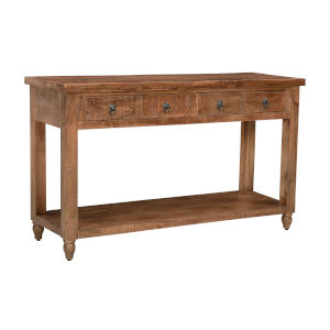 Crossroads Natural 54-Inch Console Table