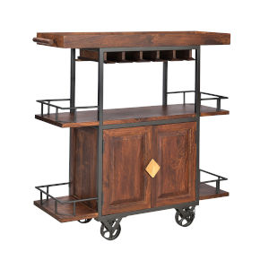 Tram Brown 52-Inch Wine Server