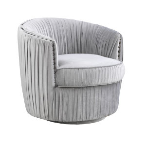 Lazy Days Soft Grey Accent Chair