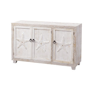 Wonders of the Sea Stars of the Sea Two Tone Credenza