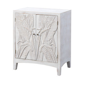 Wonders of the Sea Tropics White Wash Cabinet
