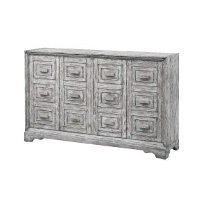 Delaney Champlain Hazy Grey Rub Credenza