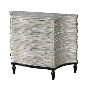 Ridgeway Silver Black Cabinet
