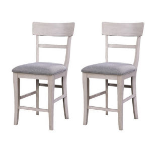 Santa Clara  Putty Dining Chair, Set of Two
