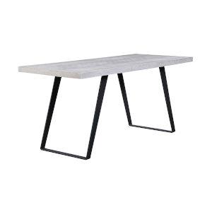 Aspen Court II Court Herringbone White Rub Counter Height Dining Table
